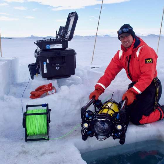 The Journey to Antarctica with Boxfish's co-founder Ben King