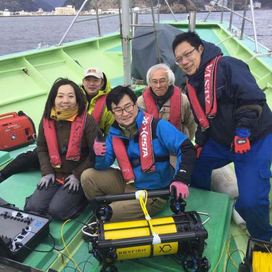 Boxfish Research ROV's and 360 video systems now distributed in Japan!