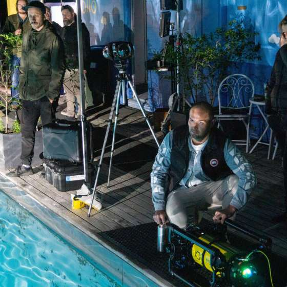 NZ Cinematographers WOWED by our unmanned underwater camera!