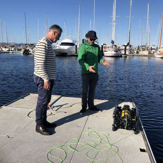 Tasmania…a hot bed for underwater robotics