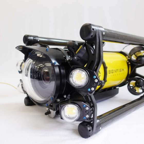 Boxfish Luna underwater cinematography drone